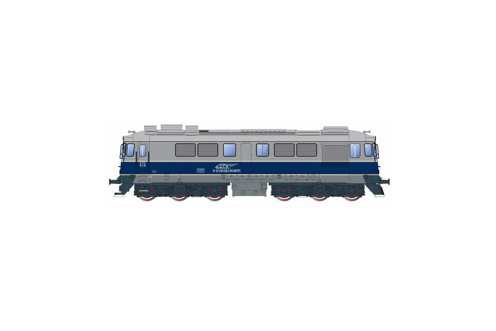 CFR - 060-DA diesel locomotive (Express livery)