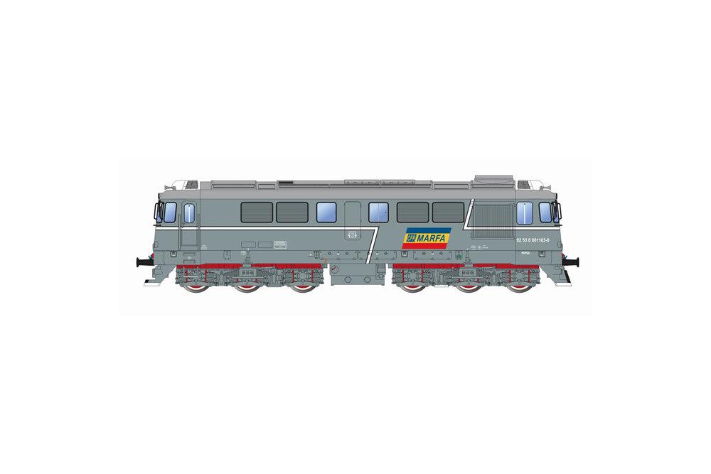 CFR Marfa - 060-DA diesel locomotive