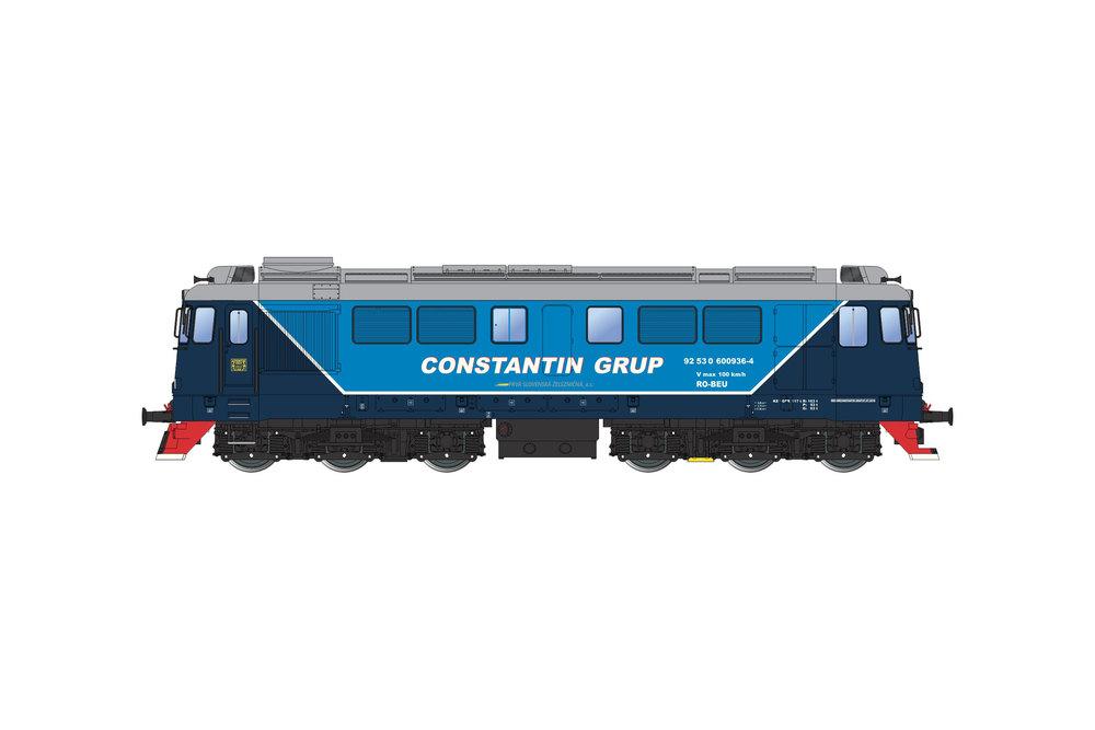 Constantin Grup - 060-DA diesel locomotive