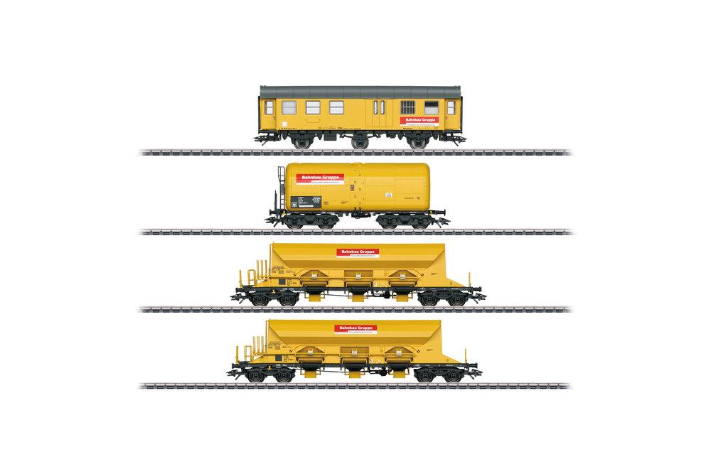 Track Laying Group (Bahnbaugruppe) - Freight car set
