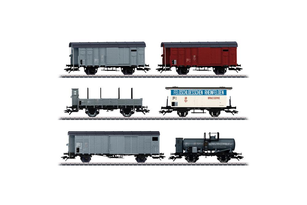 SBB CFF FFS - Freight car set