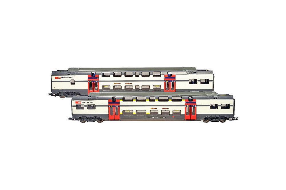 SBB CFF FFS - 2x RABe 511.0 extra coaches