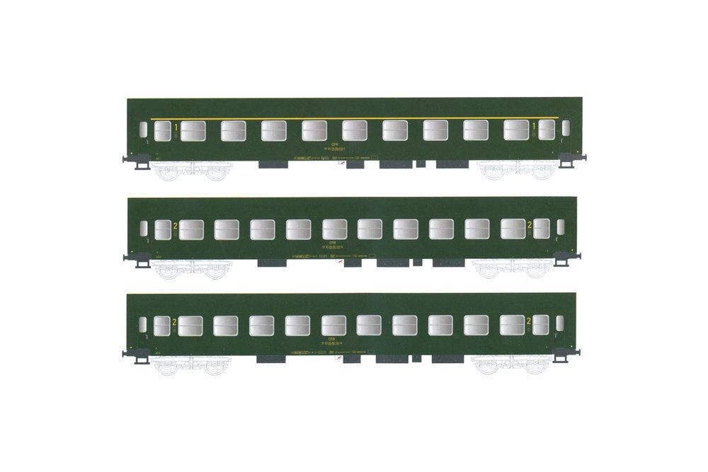 CFR - YA/B 70 passenger coaches