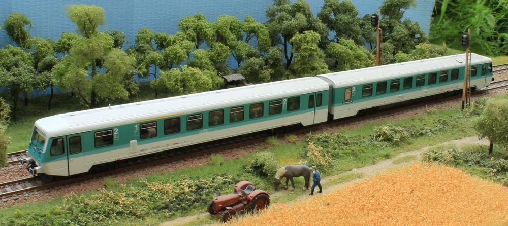 CFR - Class 92 diesel railcar (Duewag)