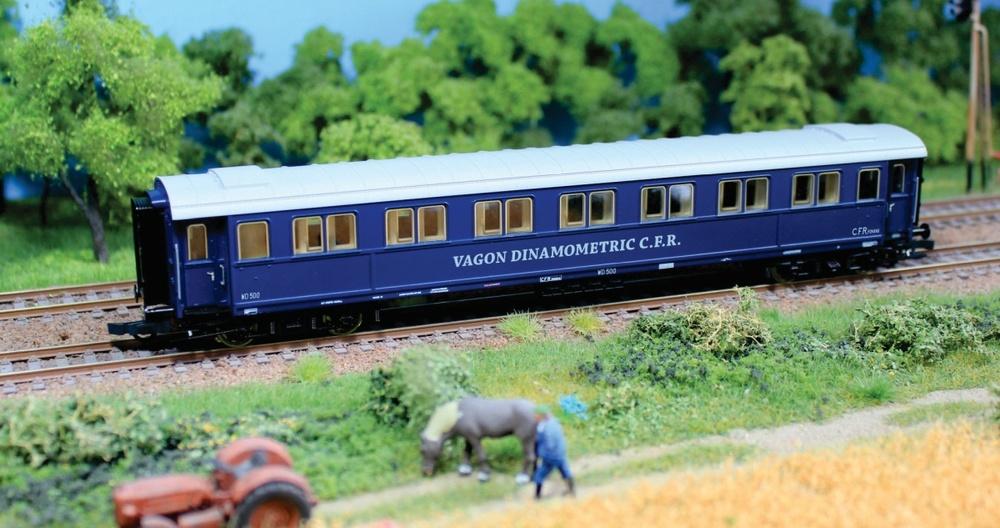 CFR - WD 500 dynamometric wagon