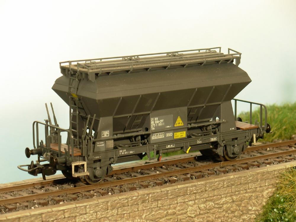 SBB CFF FFS - Tds freight wagon