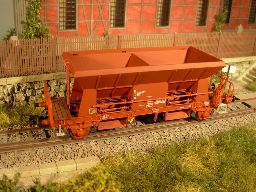 SBB CFF FFS - Xs freight car