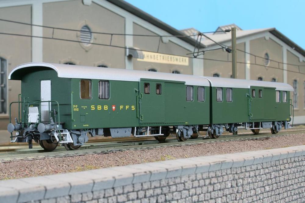 SBB CFF FFS - D2-D2 parcel-sorting wagon