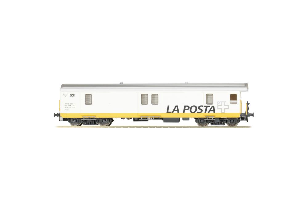 Swiss Post - Z 531 postal coach