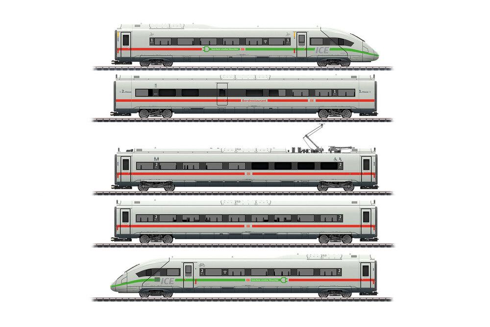 DB - Class 412 / 812 (ICE 4) w. green stripe