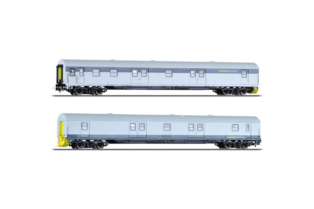 RailAdventure - 2x Dmz 90-94 coaches