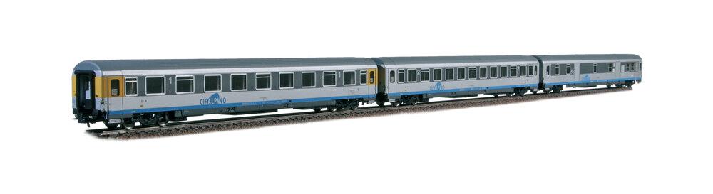 Cisalpino - UIC-Z type passenger coaches set