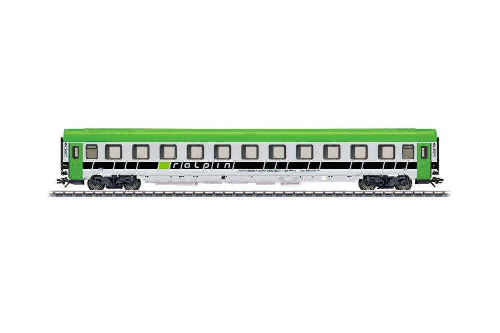 Ralpin - Bcm 59-00 couchette passenger coach
