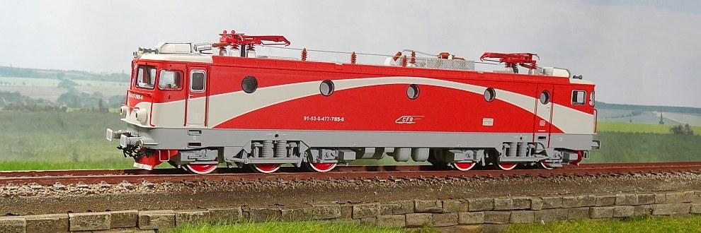 CFR Calatori - Class 47.7 electric locomotive
