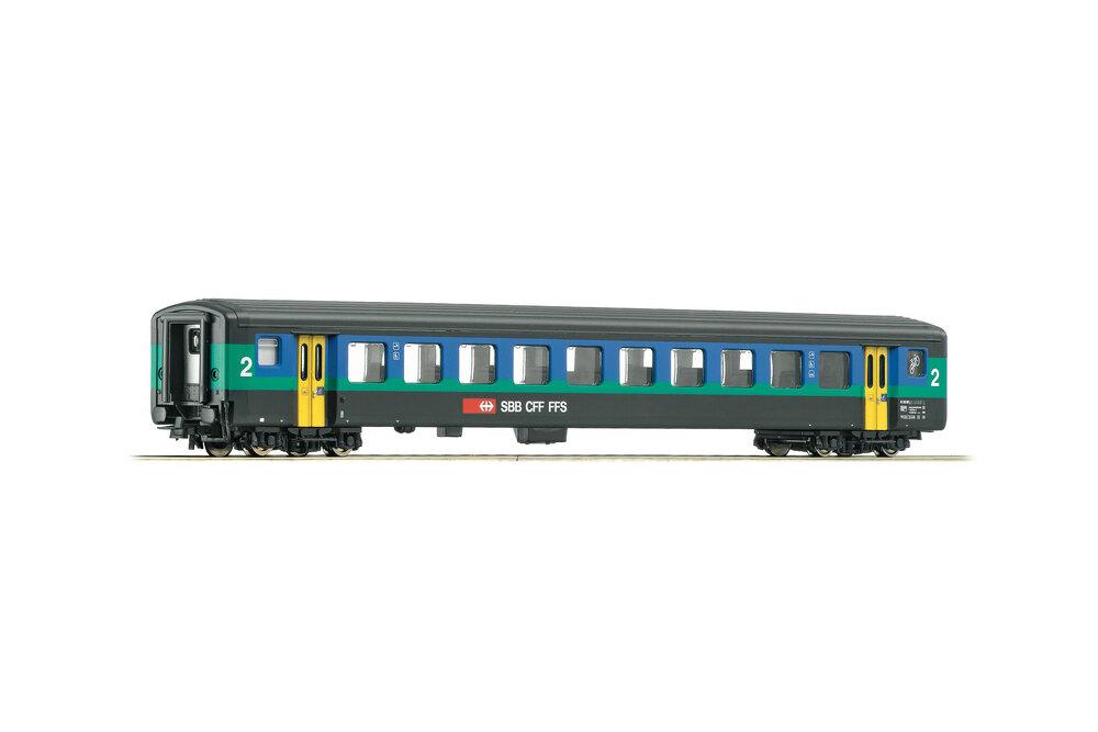 SBB CFF FFS - EW II 2nd class passenger coach