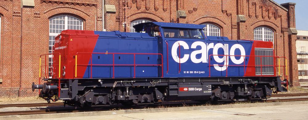 SBB Cargo - Class 203 diesel locomotive