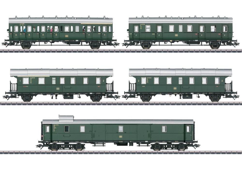 DB - Passenger car set