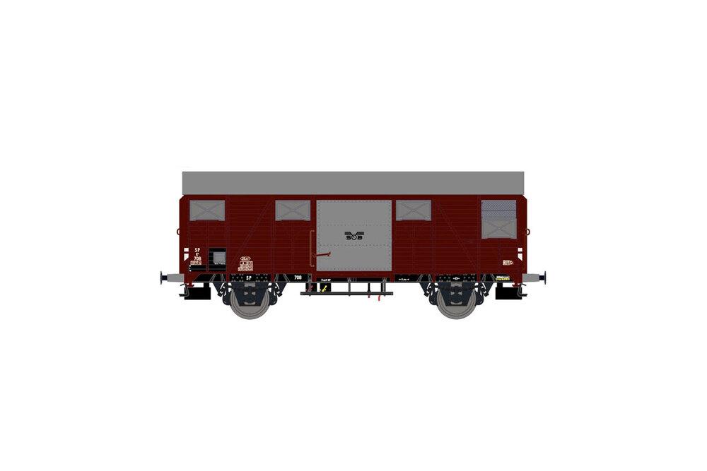 SOB - K4 706 freight wagon