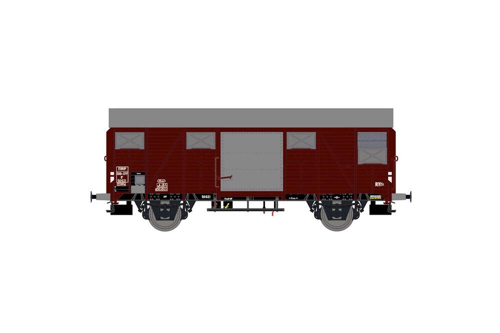 SBB CFF - K4 freight wagon