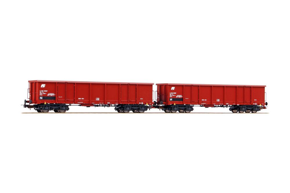 FS - 2x Eaos freight wagons
