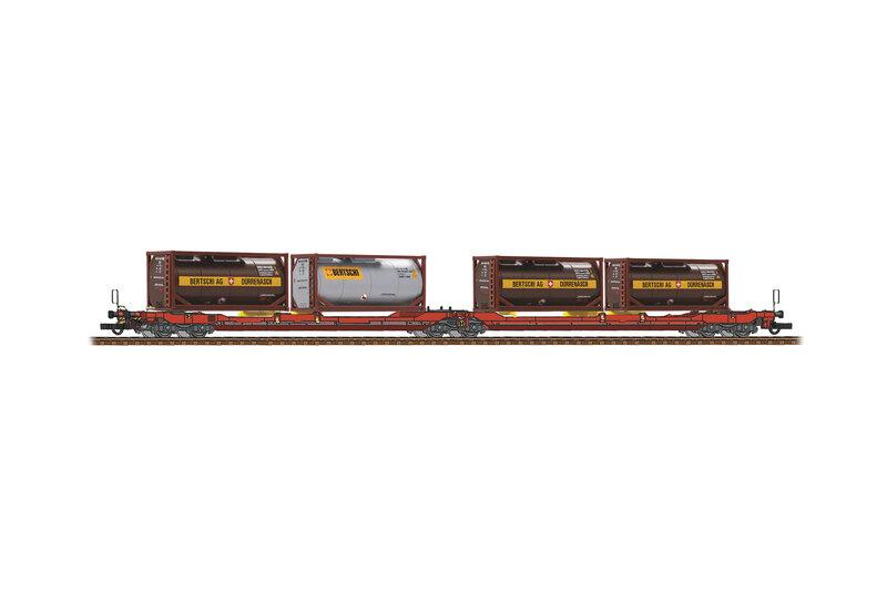ÖBB / RCW - Sdggmrs 738 / T3000e freight wagon