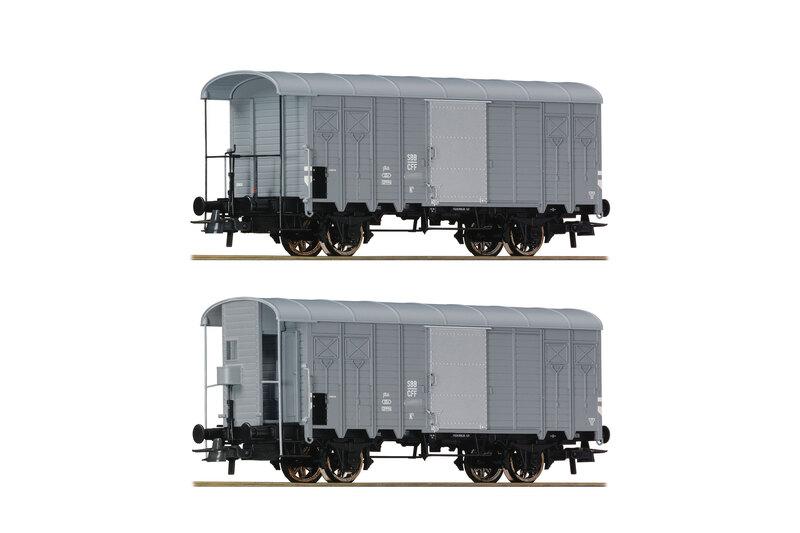 SBB CFF FFS - K3 freight wagons