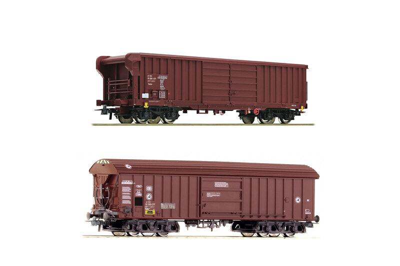SBB CFF FFS - Taehm & Taems freight wagons