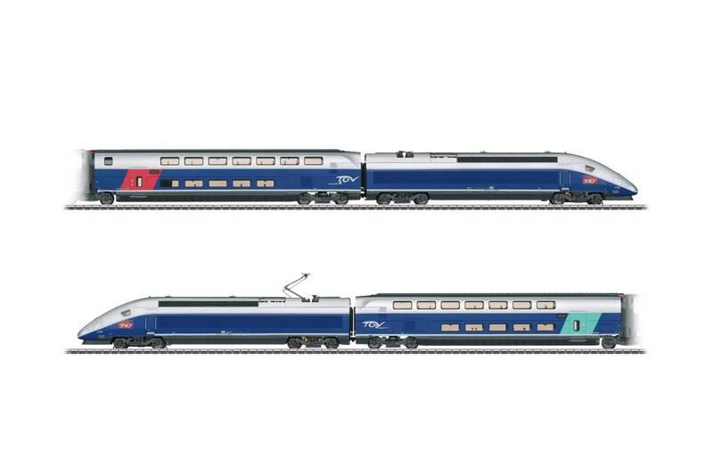SNCF - TGV Euroduplex high-speed train
