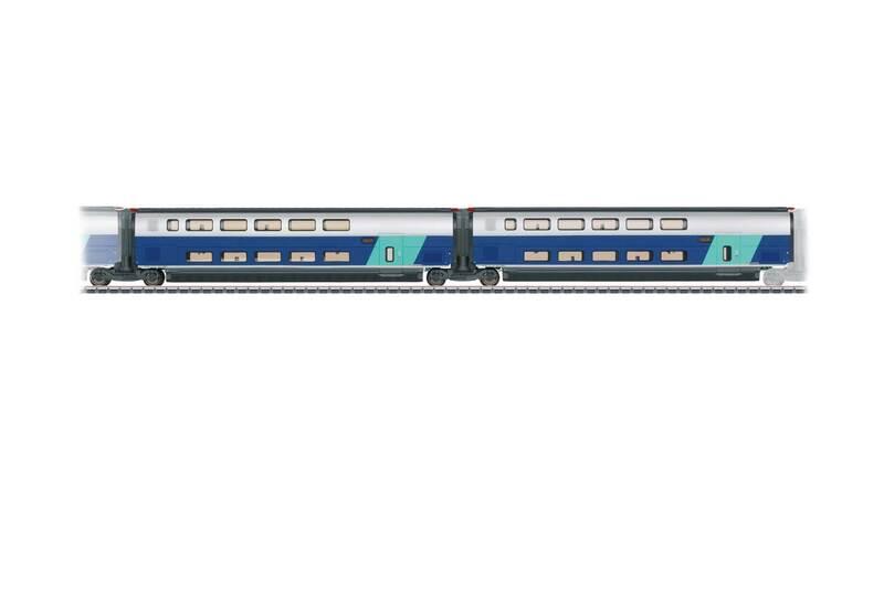 SNCF - TGV Euroduplex high-speed train car set #2