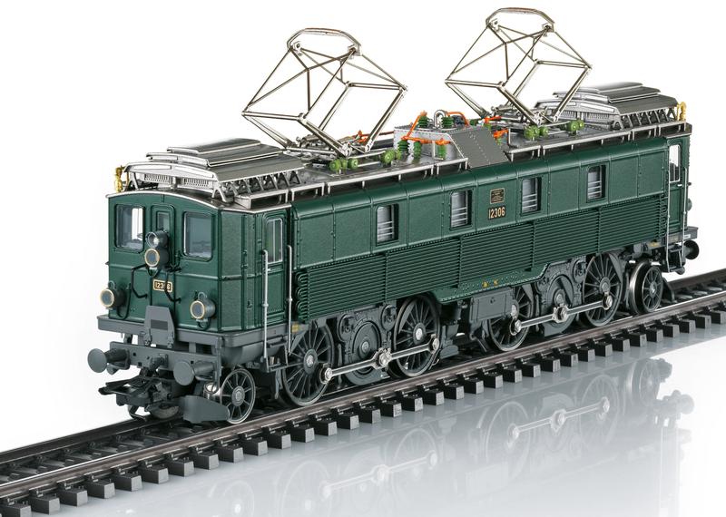 SBB CFF FFS - Be 4/6 electric locomotive
