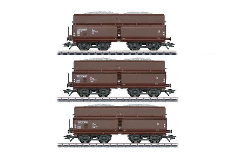 ÖBB - 3x Fad freight wagons set