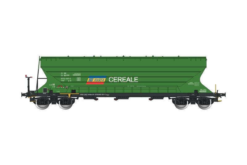 CFR Marfa - Uagps freight wagon