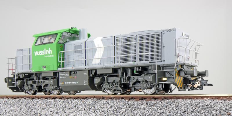 Vossloh - 1271 002 (G1000 BB) diesel locomotive