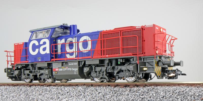 SBB Cargo - Am 842 102-6 (G1000 BB) diesel locomotive