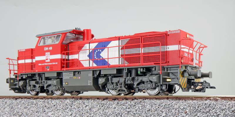 HGK - DH 49 (G1000 BB) diesel locomotive