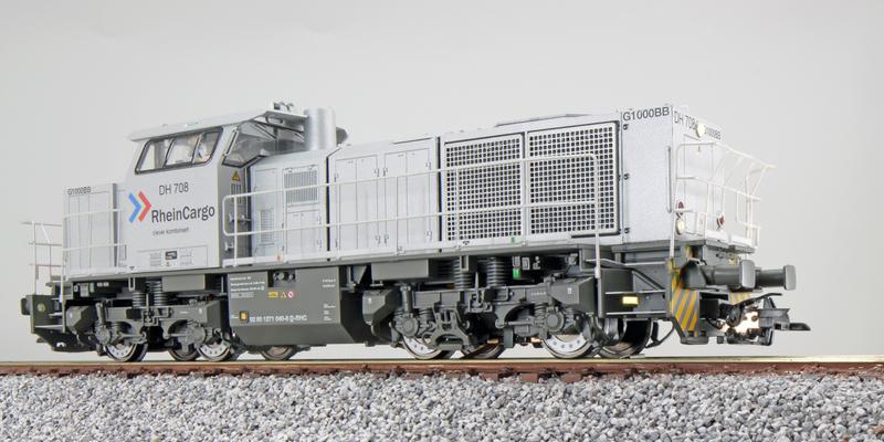 RheinCargo - DH 708 (G1000 BB) diesel locomotive