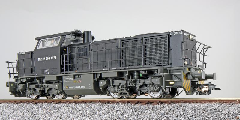 MRCE - 500 1578 (G1000 BB) diesel locomotive