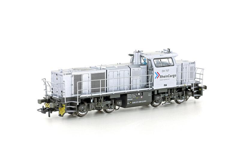 RheinCargo - DH 707 (G1000 BB) diesel locomotive