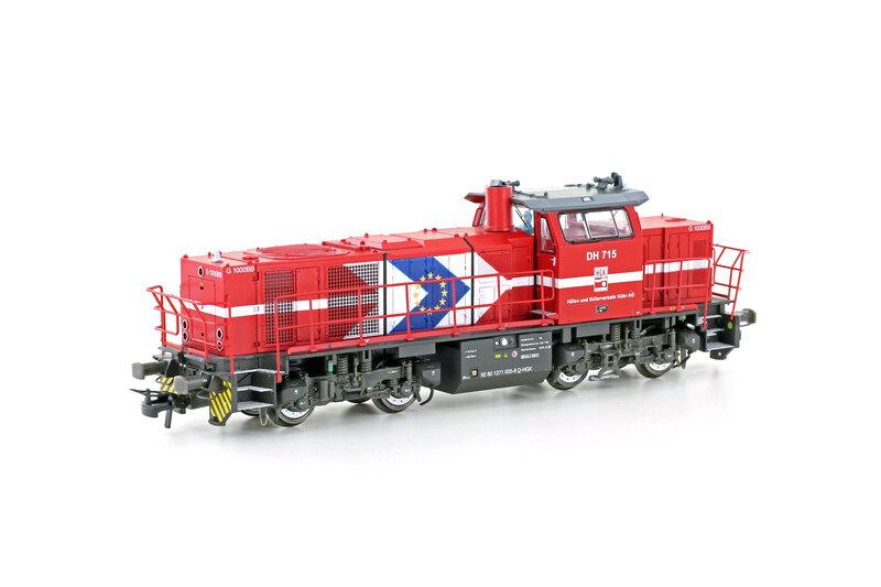 HGK - DH 715 (G1000 BB) diesel locomotive