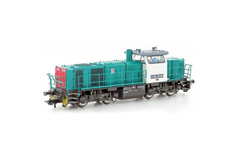 SBB Cargo - D100.001SR (G1000 BB) diesel locomotive