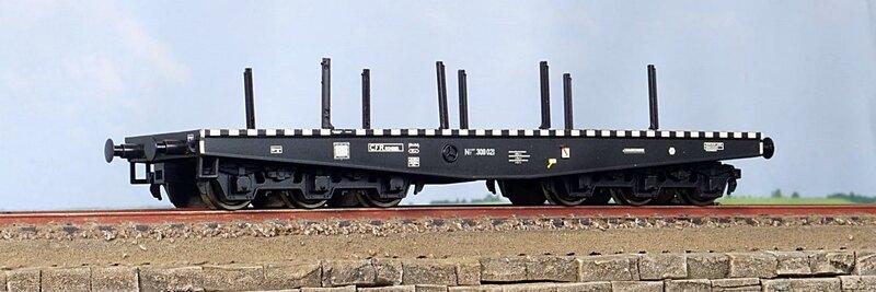 CFR - Niisdff/t flat wagon