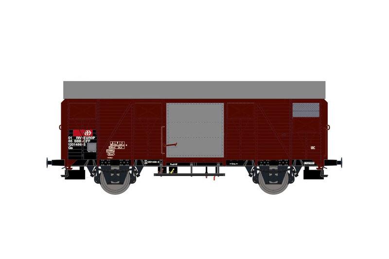 SBB CFF - Gs freight wagon