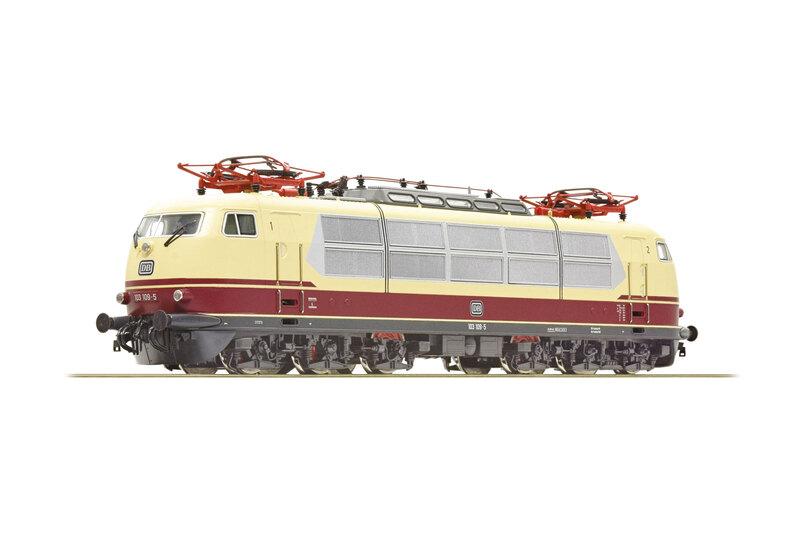 DB - 103 109-5 electric locomotive