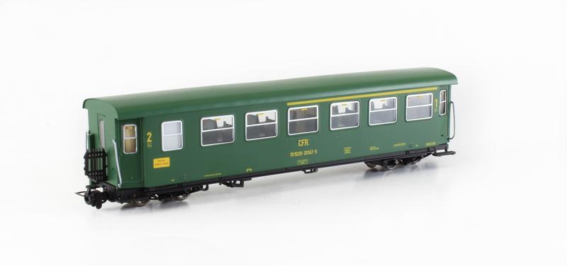 CFR - Series 25-20 passenger coach for narrow railways