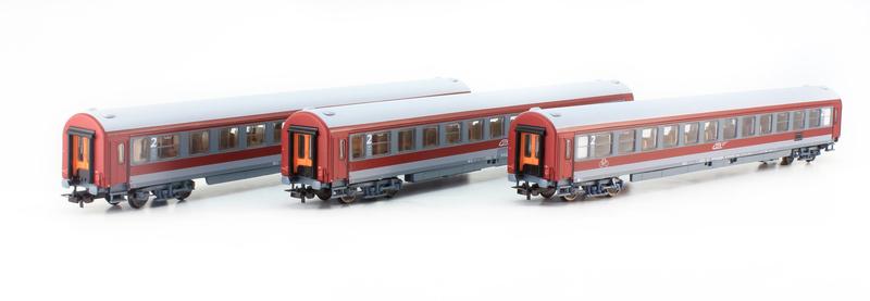 CFR - Beem 22-96 & Bdeem 84-96 passenger coaches set