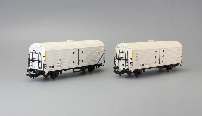 MAV - Gjm & CFR - Rsfw/c freight wagons set