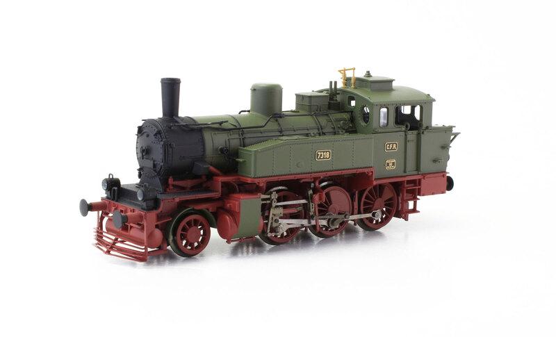 CFR - 7318 steam locomotive