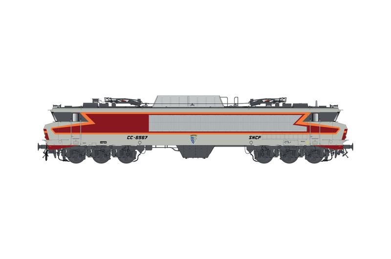 SNCF - CC 6567 electric locomotive