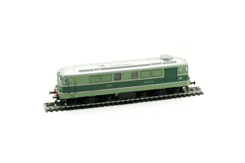 PKP - ST43-14 diesel locomotive