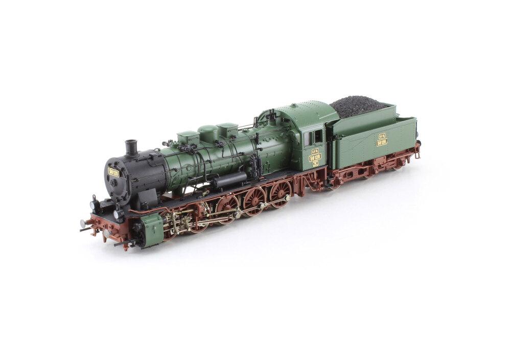 CFR - 50.128 steam locomotive